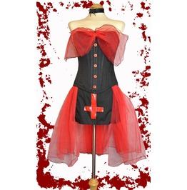 Spooky Deadly Goth Gothic Lolita Corset & Skirt Vampire Babymetal Manson
