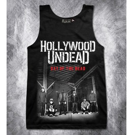 Hollywood Undead Day Dead Women's Ladies Girls Tank Top Vest T Shirt