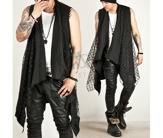 checkered_mesh_attached_draping_sleeveless_long_cardigan_47_cardigans_and_sweaters_6.jpg