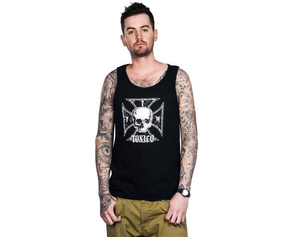 toxico_clothing_mens_iron_cross_skull_beater_vest_tank_tops_3.jpg