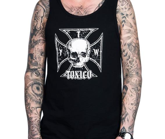 toxico_clothing_mens_iron_cross_skull_beater_vest_tank_tops_2.jpg