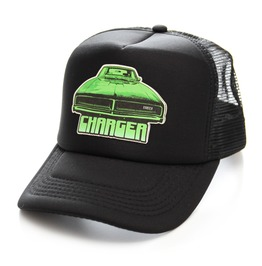 Toxico Clothing Charger Black Trucker Hat
