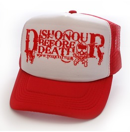 Toxico Clothing Unisex Dishonour Death Trucker Hat