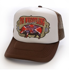 Toxico Clothing Unisex Pig Wrestling Trucker Hat