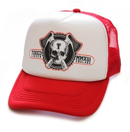Toxico Clothing Unisex Axe Skull Trucker Hat
