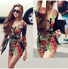 Beautiful Multicolor Dress Onesize!!