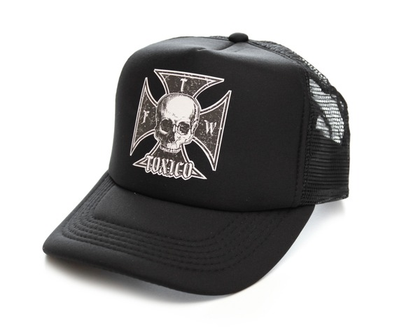 toxico_clothing_unisex_black_iron_cross_skull_trucker_hat_hats_and_caps_2.jpg