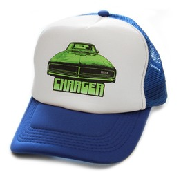 Toxico Clothing Unisex Blue Charger Trucker Hat