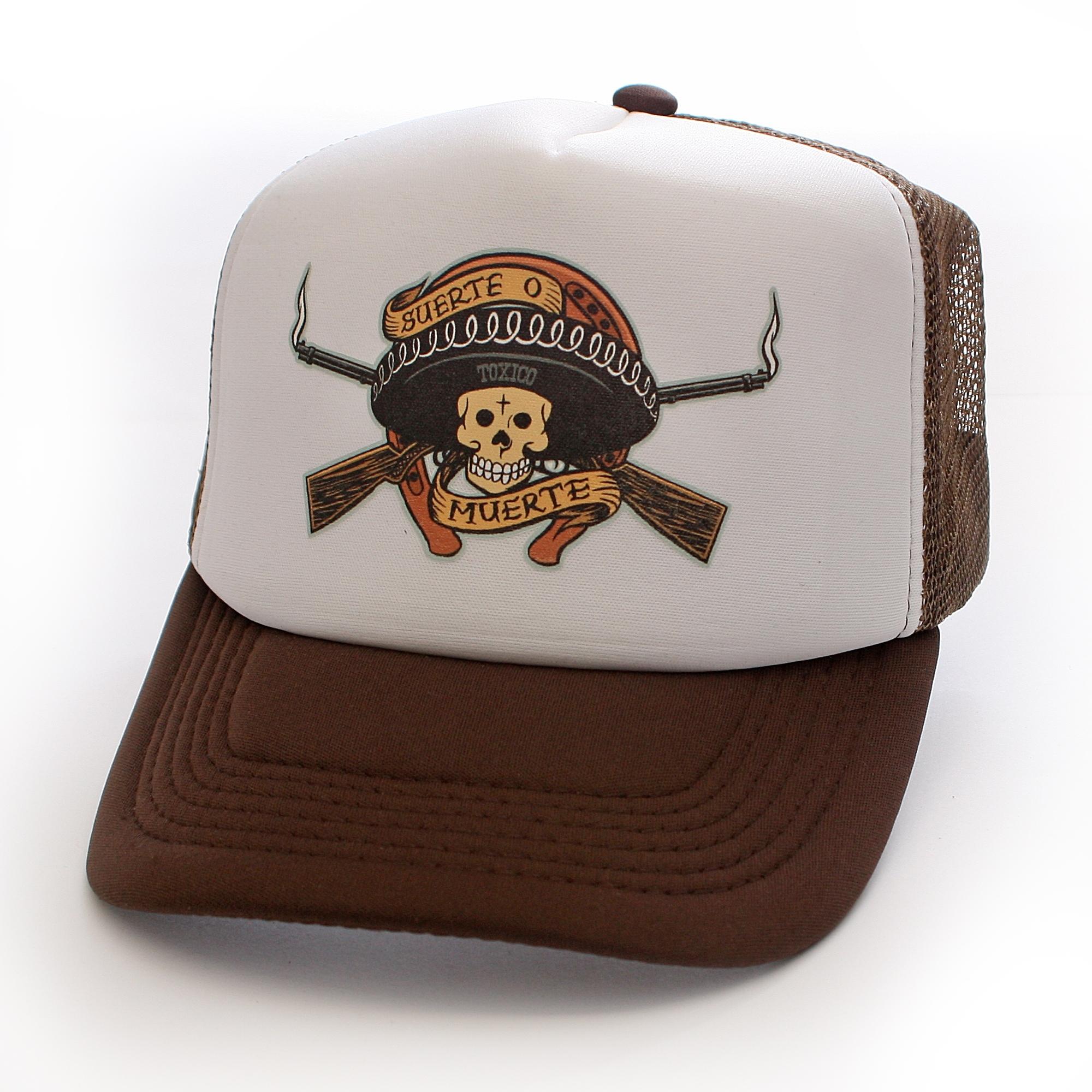 toxico_clothing_unisex_brown_muerte_bandit_trucker_hat_hats_and_caps_2.jpg