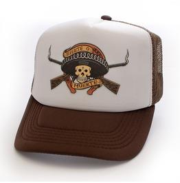 Toxico Clothing Unisex Brown Muerte Bandit Trucker Hat