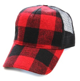 Toxico Clothing Unisex Hunter Check Trucker Hat