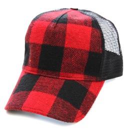 Toxico Clothing Unisex Hunter Check Trucker Hat