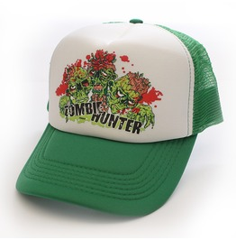 Toxico Clothing Unisex Green Zombie Hunter Trucker Hat
