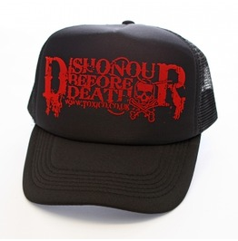 Toxico Clothing Unisex Black Dishonour Trucker Hat