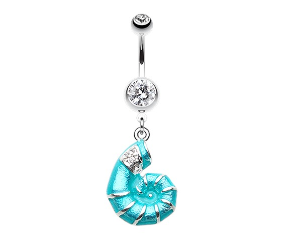 vibrant_nautilus_teal_seashell_belly_button_ring_clear_gem_bar_belly_button_rings_2.png