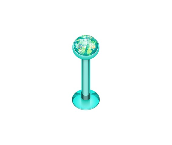 colorline_opal_glitter_shower_dome_steel_labret_teal_labrets_and_monroes_2.png