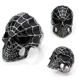 Demon Devil Skull Alloy Ring