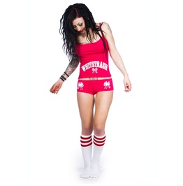 Toxico Clothing Pink Whitetrash Underwear Set
