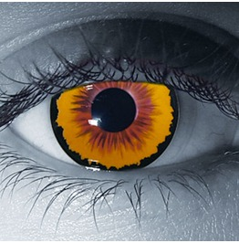 Dracula / Incubus Halloween Contact Lenses