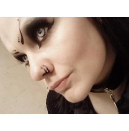 Manson Halloween Contact Lenses