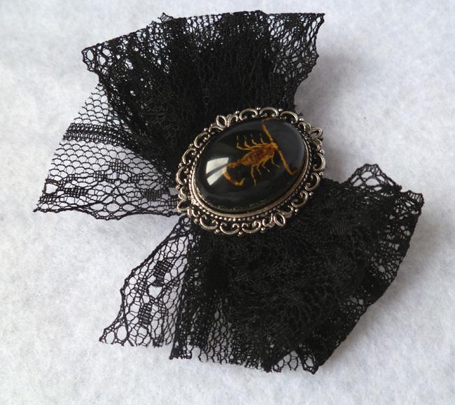 taxidermy_scorpion_hair_pin_cabinet_curiosities_oddities_victorian_pins_4.JPG