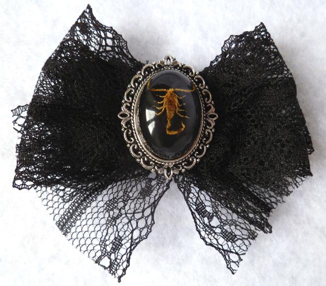 taxidermy_scorpion_hair_pin_cabinet_curiosities_oddities_victorian_pins_5.JPG