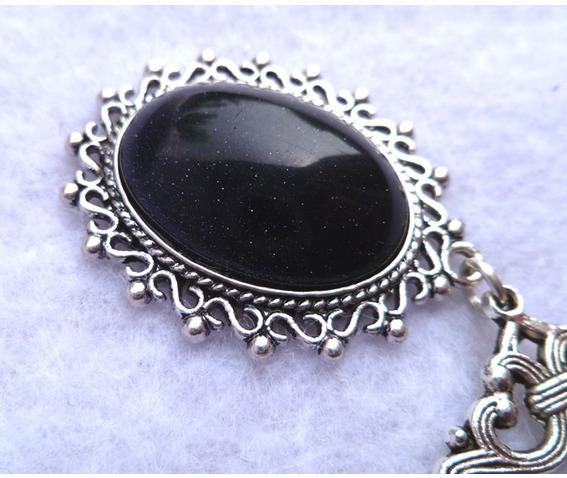 nyx_blue_sand_stone_medallion_necklace_goth_elven_victorian_wedding_necklaces_3.JPG
