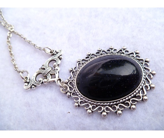 nyx_blue_sand_stone_medallion_necklace_goth_elven_victorian_wedding_necklaces_4.JPG