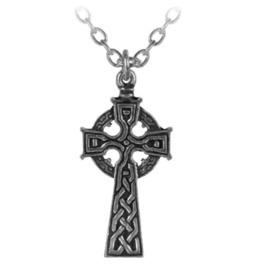 Celt's Cross Necklace Pendant Alchemy Gothic