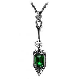 Sucre Vert Absinthe Spoon Gothic Pendant Alchemy Gothic