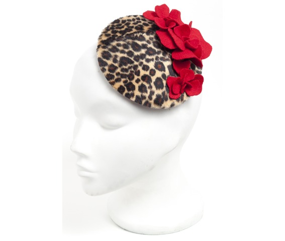faux_leopard_red_floral_fascinator_hat_hats_and_caps_3.jpg