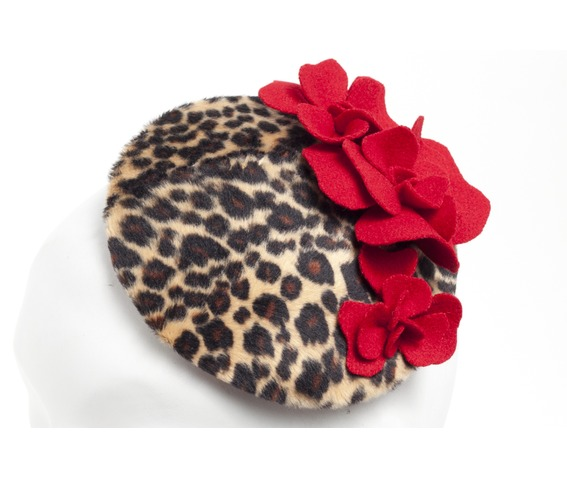 faux_leopard_red_floral_fascinator_hat_hats_and_caps_2.jpg