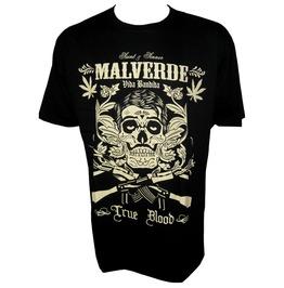 Tb Motorcycles T Shirt Malverde Ganja Ak47 Racing Skull Tattoo S M L Xl Xxl