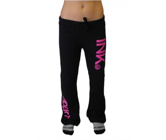 inkaddict_ink_womens_black_sweatpants_pink_pants_and_jeans_2.jpg