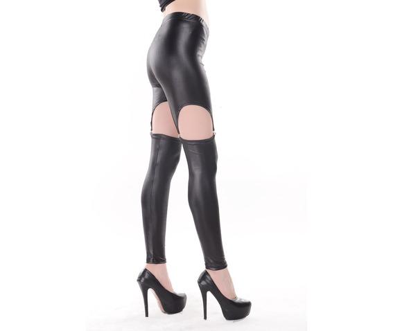 black_wet_look_poly_u_garter_leggings_a236qs_scroll_and_read_b4_order_pants_and_jeans_3.jpg
