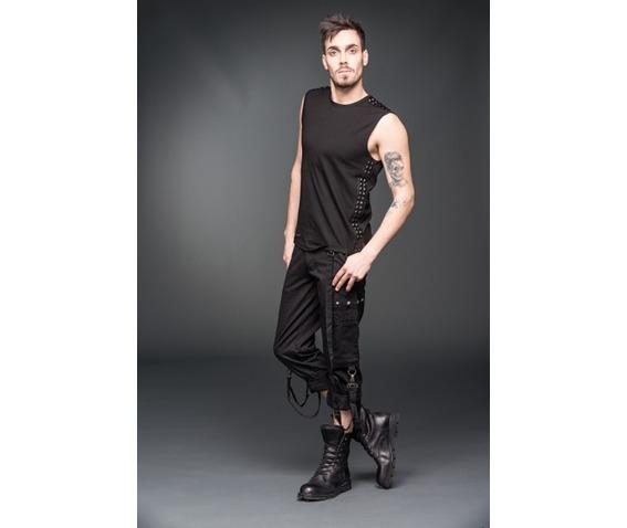 black_gothic_industrial_punk_3_4_shorts_removable_bondage_straps_shorts_and_capris_4.jpg