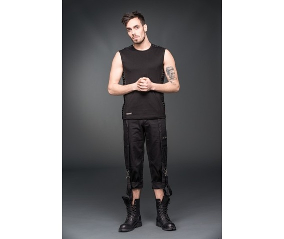 black_gothic_industrial_punk_3_4_shorts_removable_bondage_straps_shorts_and_capris_3.jpg