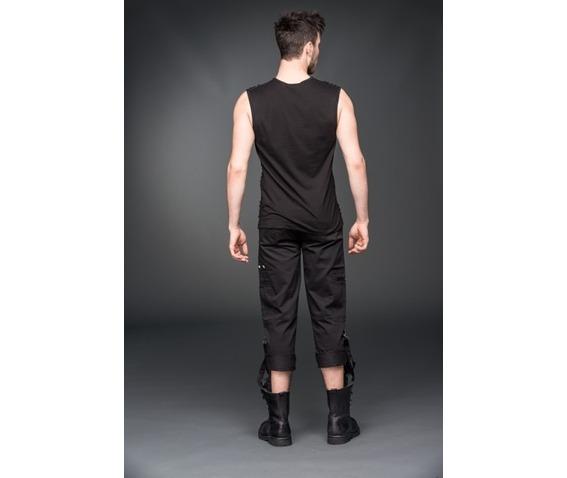 black_gothic_industrial_punk_3_4_shorts_removable_bondage_straps_shorts_and_capris_2.jpg
