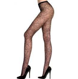 Sexy Floral Lace Pantyhose V5