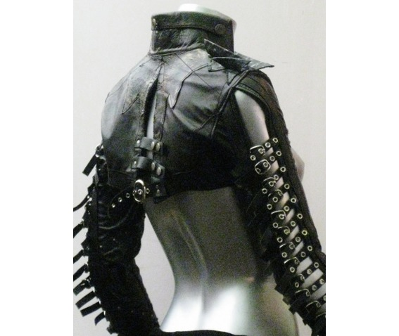 italiano_couture_warrior_leather_dress_and_bolero_dresses_4.JPG