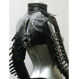 Italiano Couture Warrior Leather Bolero