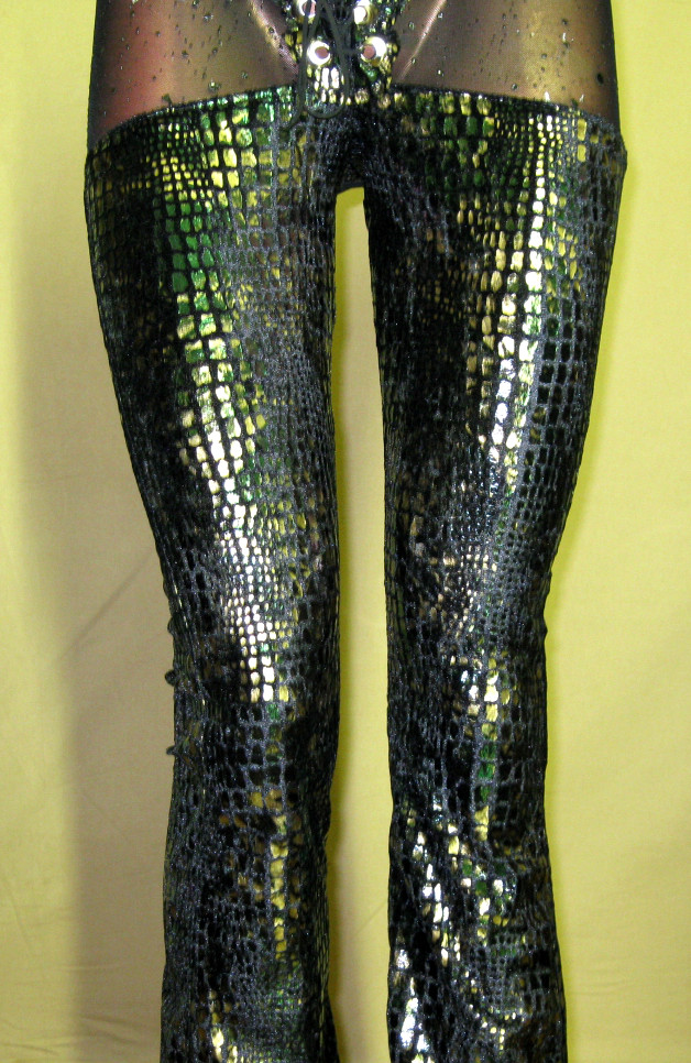 italiano_couture_reptile_print_metallic_chaps_pants_pants_and_jeans_4.JPG