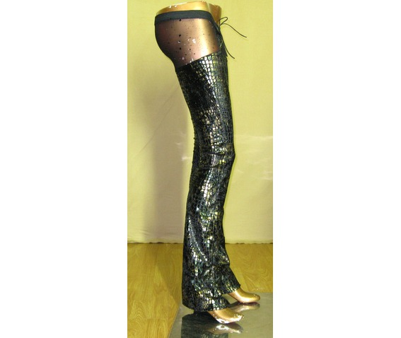 italiano_couture_reptile_print_metallic_chaps_pants_pants_and_jeans_3.JPG