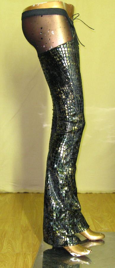italiano_couture_reptile_print_metallic_chaps_pants_pants_and_jeans_3.JPG