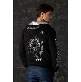 Zip Up Hoodie Black Panther