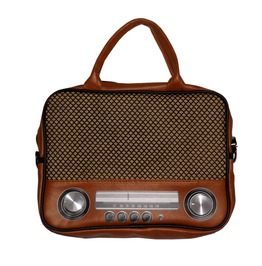 Rockit Radio Shoulder Handbag Retro Vintage Geaser