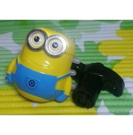 Despicable Minion Toy Laser Flash Light Sound Spinning Top Spinner Music