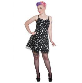 Creepy Horror Mini Dress Gothic Lolita Style Halloween Dress Hell Bunny Xl