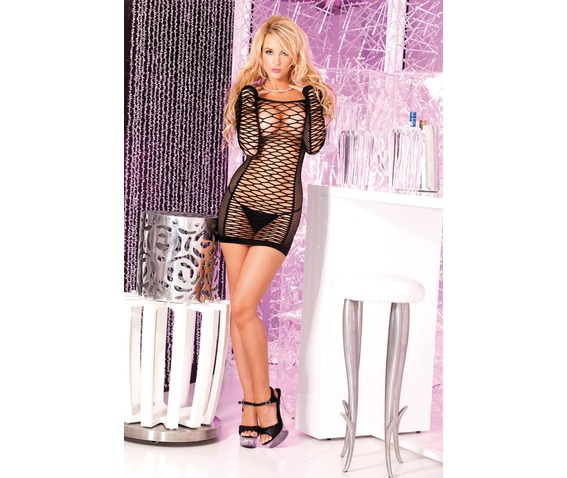 pink_lipstick_nothing_net_seamless_mini_dress_dresses_2.jpg