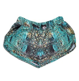 'alligator' Women's Printed Thermoactive Shorts
